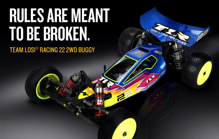 TEAM LOSI TLR0022 1/10 22 2WD Race Buggy Kit